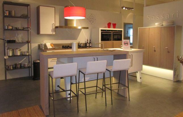 Vaatwasser Voor Zwevende Keuken : keukenwinkel van Nederland Zwevende keuken met eiland (8) [43835