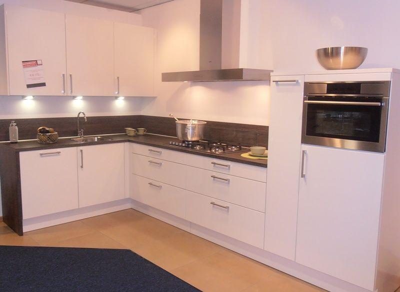 Hoogglans Wit Keuken : Keukenkorting.nl de grootste en voordeligste keukenwinkel van