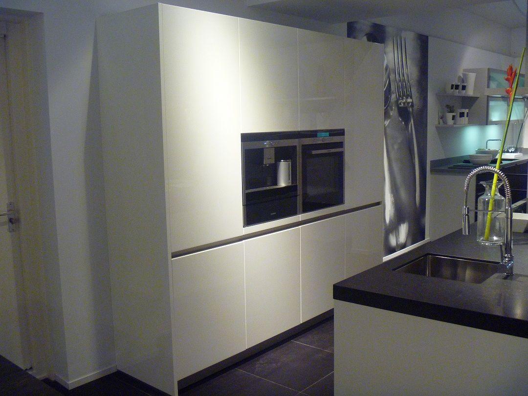 De grootste en voordeligste keukenwinkel van nederland gounod wit 51031 - Prijs keuken met kookeiland ...