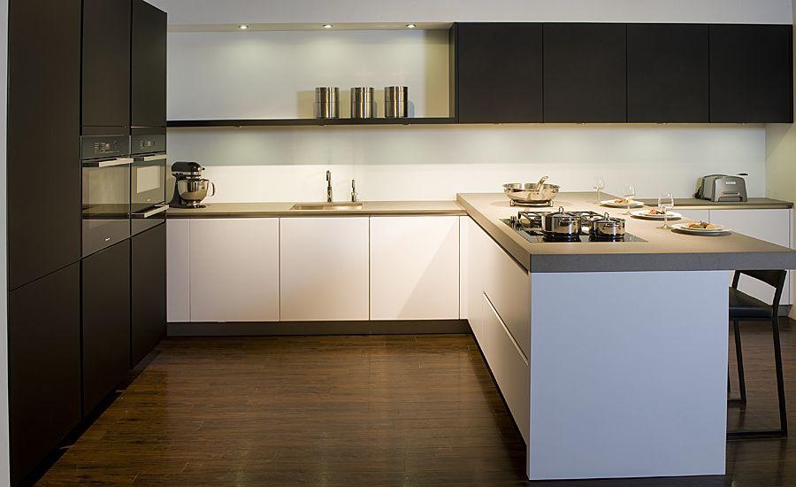 Keuken Greeploos Of Niet : van Nederland Exclusive Keuken Greeploos zwartglas [37744