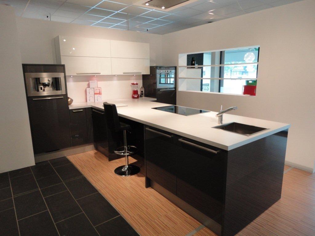Antraciet Keuken : keuken elba antraciet stratos wit t opstelling 53511 design keuken